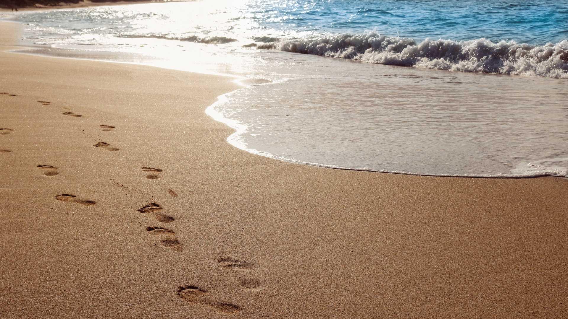 Картинка песок у моря